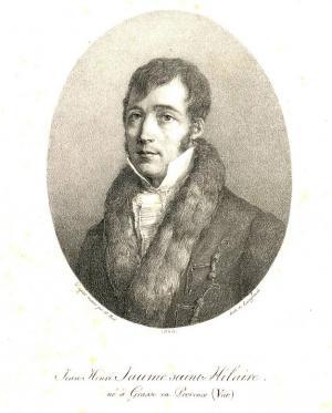Portrait de Jaume Saint-Hilaire figurant dans le tome 10 des Plantes de la France