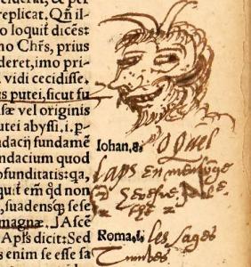 R. de Deutz, Commentariorum, in Evangelium Johannis, libri. XIII, Cologne, 1541 (BU Arsenal, UT1C, Res 537/2)